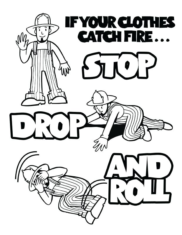 618x800 Coloring Pages Free Fire Prevention Coloring Books