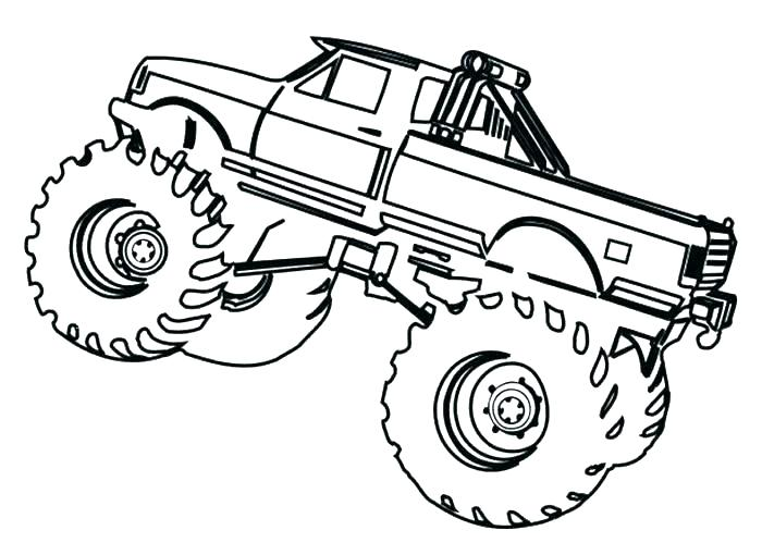 700x510 Monster Trucks Coloring Pages Monster Truck Free Printable Monster