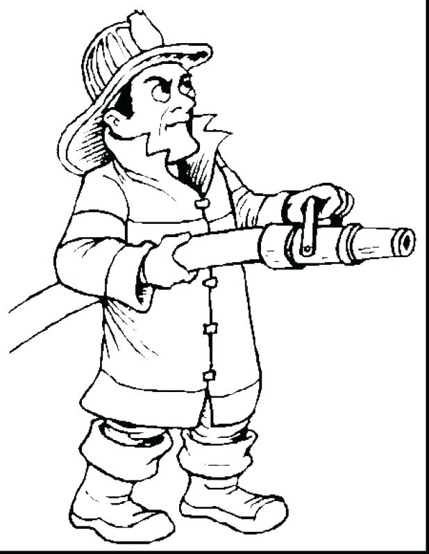 618x797 Fireman Coloring Page Fire Fighter Coloring Pages Coloring Page