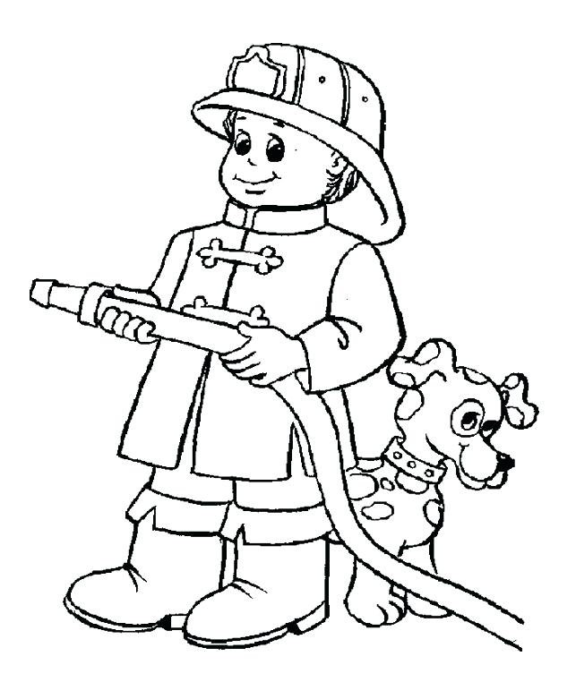 643x762 Fireman Coloring Page Firefighter Coloring Page Firefighter