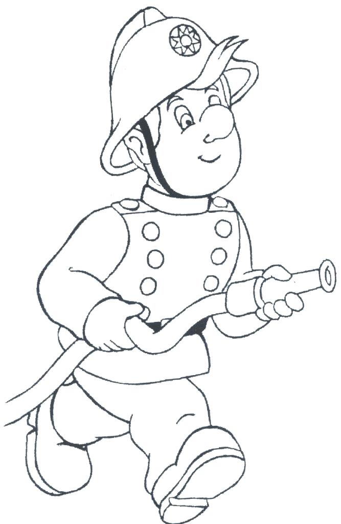 667x1024 Fireman Coloring Page Firefighter Coloring Page Free Printable