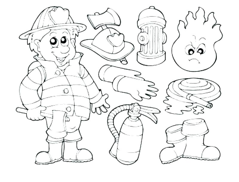 800x609 Fireman Coloring Pages Fire Fighter Coloring Page Coloring Page