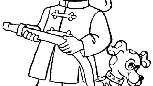 585x329 Fireman Coloring Pages Fireman Colouring Pages Coloring Free