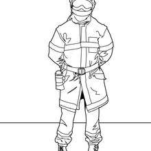 220x220 Fireman Coloring Pages