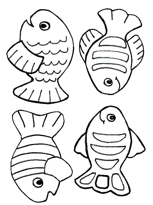 534x712 Free Fish Coloring Pages Coloring Page Of A Fish Free Fish