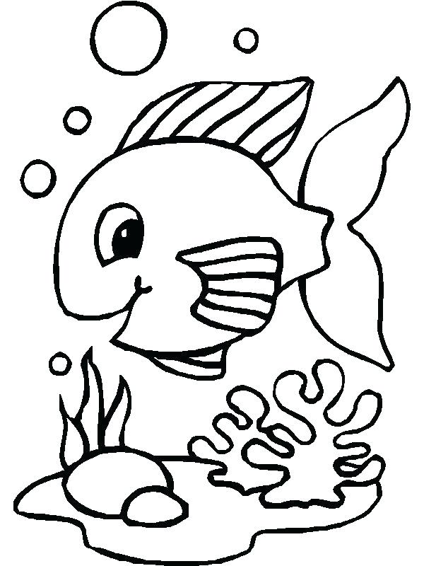 600x800 Colorear Angel Fish Fish Color Pages Also Fish Coloring Pages