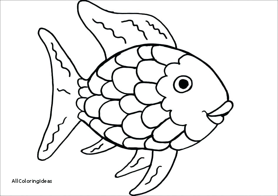 945x668 Coloring Pages Of Fish Fish Coloring Page Colouring Pages Fishing
