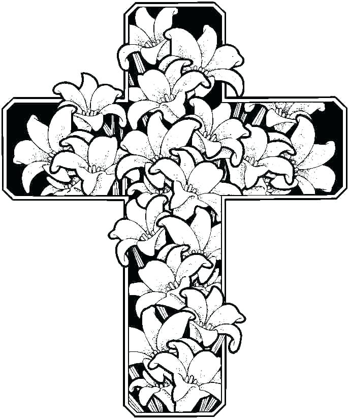 687x827 Free Coloring Pages Of Flowers Free Coloring Pages Flowers