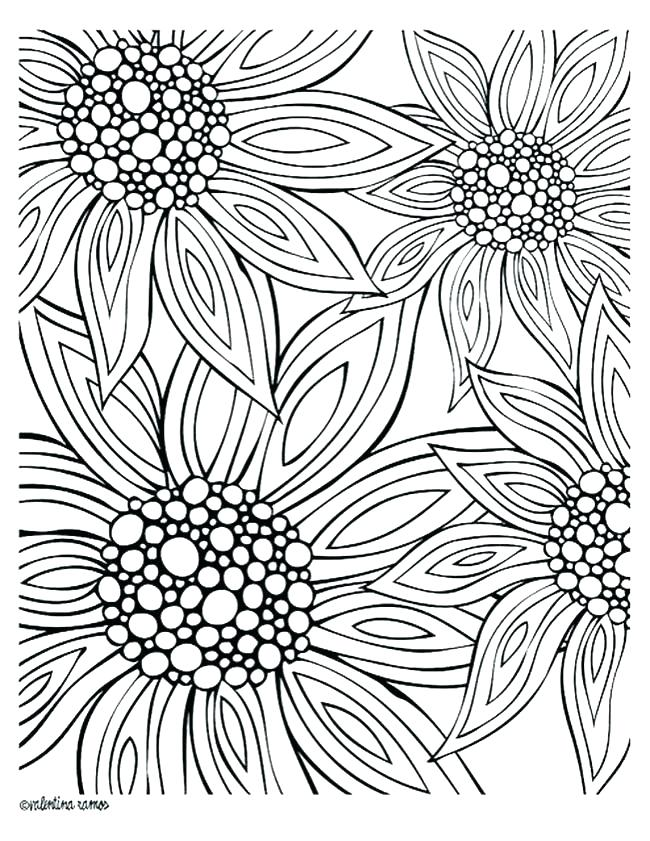 650x841 Coloring Pages Of Flowers And Butterflies Or Coloring Pages