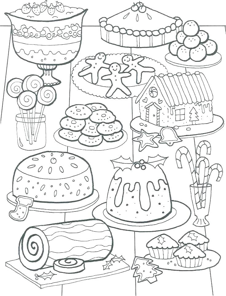 736x963 Food Coloring Pages Thanksgiving Food Coloring Pages
