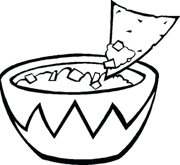 599x549 Food Coloring Pages To Print Free Printable Healthy Eating