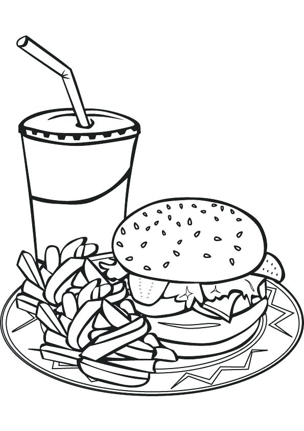 595x842 Food Pyramid Coloring Pages Free Food Coloring Pages To Print Food