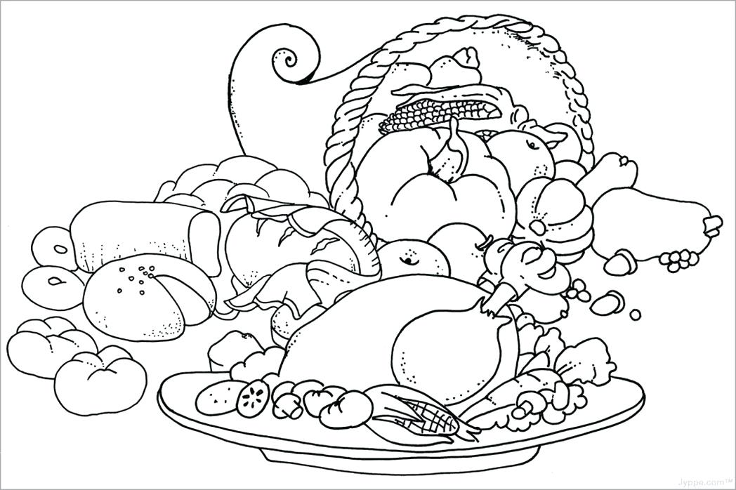 1048x698 Free Printable Food Coloring Pages For Kids Food Coloring Pages