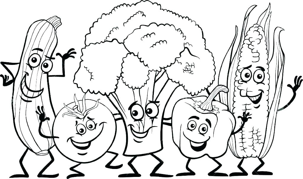 1024x607 Healthy Food Colouring Pages Free Free Food Coloring Pages Healthy