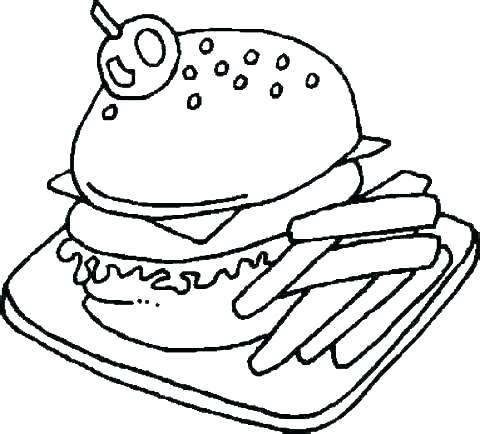 480x434 Free Food Group Coloring Pages