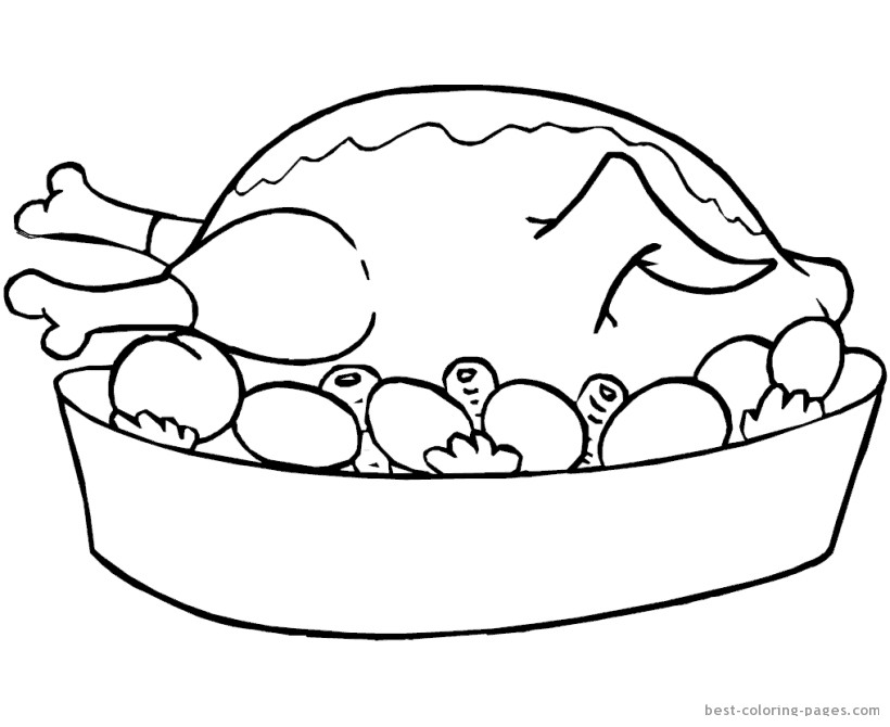820x670 Chicken Food Coloring Pages Fresh Food Coloring Pages To And Print