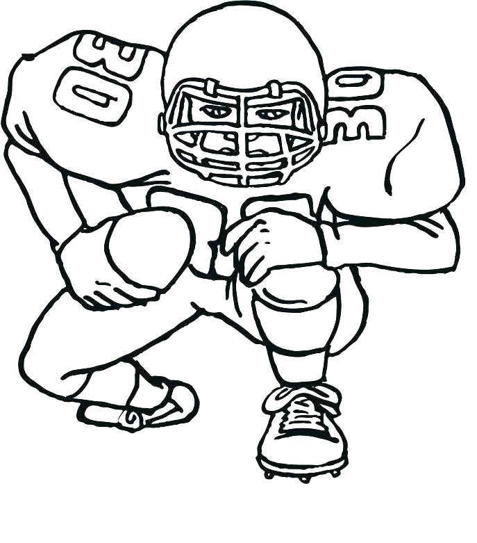 687x781 Nfl Coloring Pages Football Coloring Page Nfl Symbols Coloring