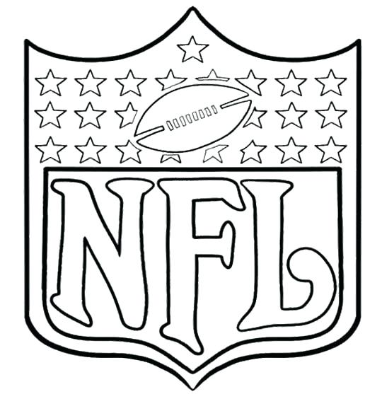 540x557 Nfl Football Coloring Pages Ideal Nfl Football Coloring Pages
