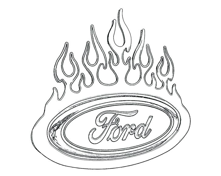 728x582 Ford Sport Coloring Page Ford Sport Coloring Page Ford Mustang