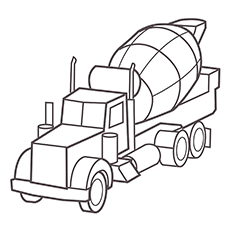 230x230 Top Free Printable Truck Coloring Pages Online