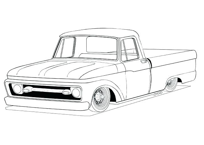 650x464 Coloring Pages Of Cars And Trucks Top Rated Ford Pictures Old