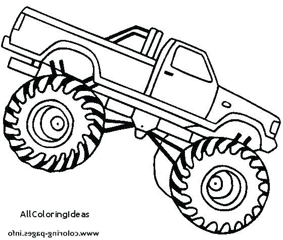 560x475 Coloring Pages Truck Monster Truck Coloring Pages Free Coloring