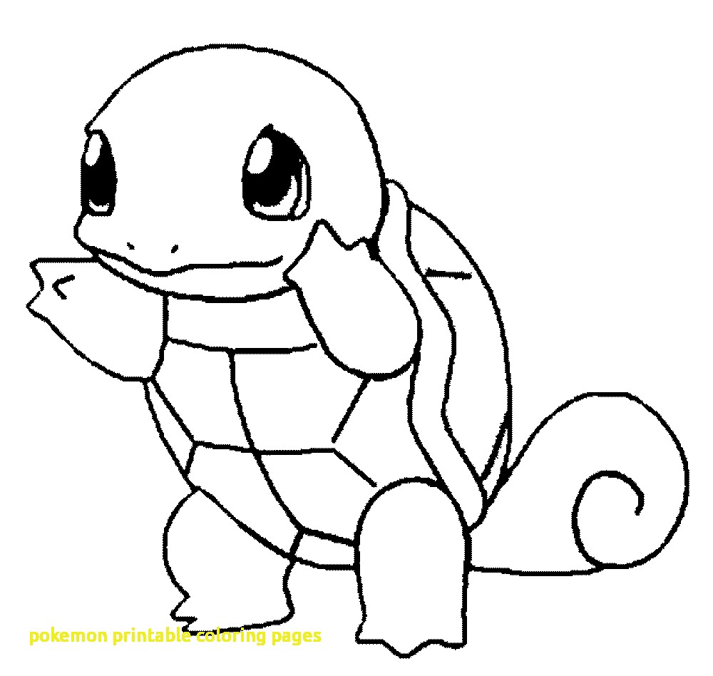 1000x948 Pokemon Printable Coloring Pages With Pokemon Coloring Pages