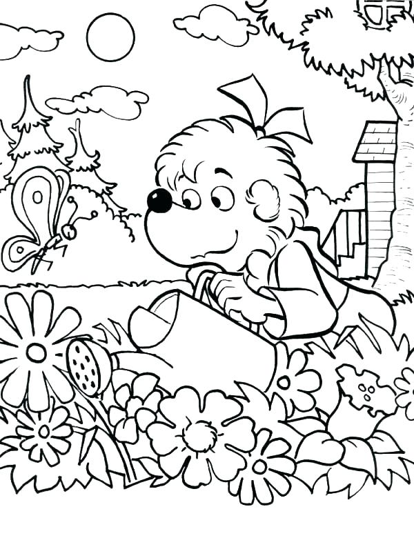 600x780 Amazing Garden Coloring Page Coloring Pages Amazing Love Bug