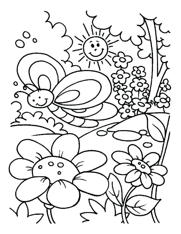 600x776 Gardening Coloring Pages Free Secret Garden Coloring Pages View