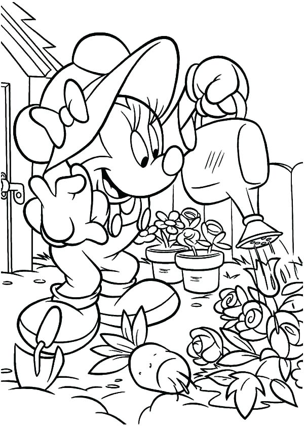 600x840 Amazing Garden Coloring Page Garden Coloring Pages Picture Garden