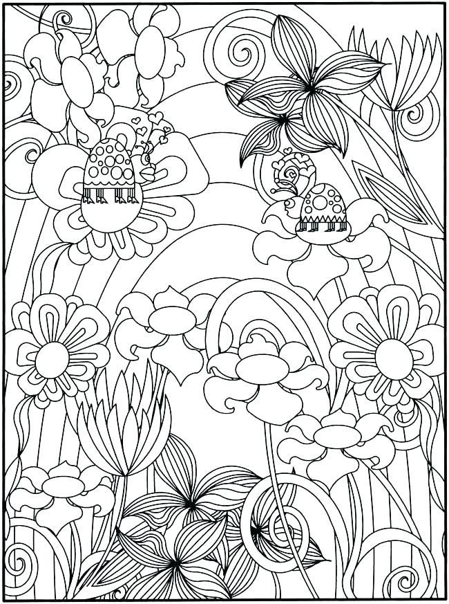 650x873 With Secret Garden Coloring Book Garden Of Eden Coloring Pages