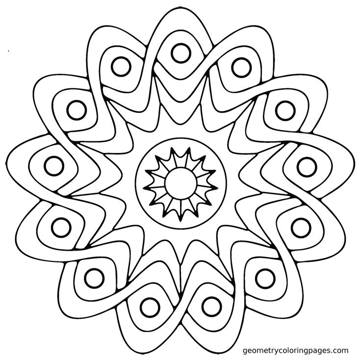 Free Geometric Coloring Pages For Adults at GetDrawings.com | Free ...