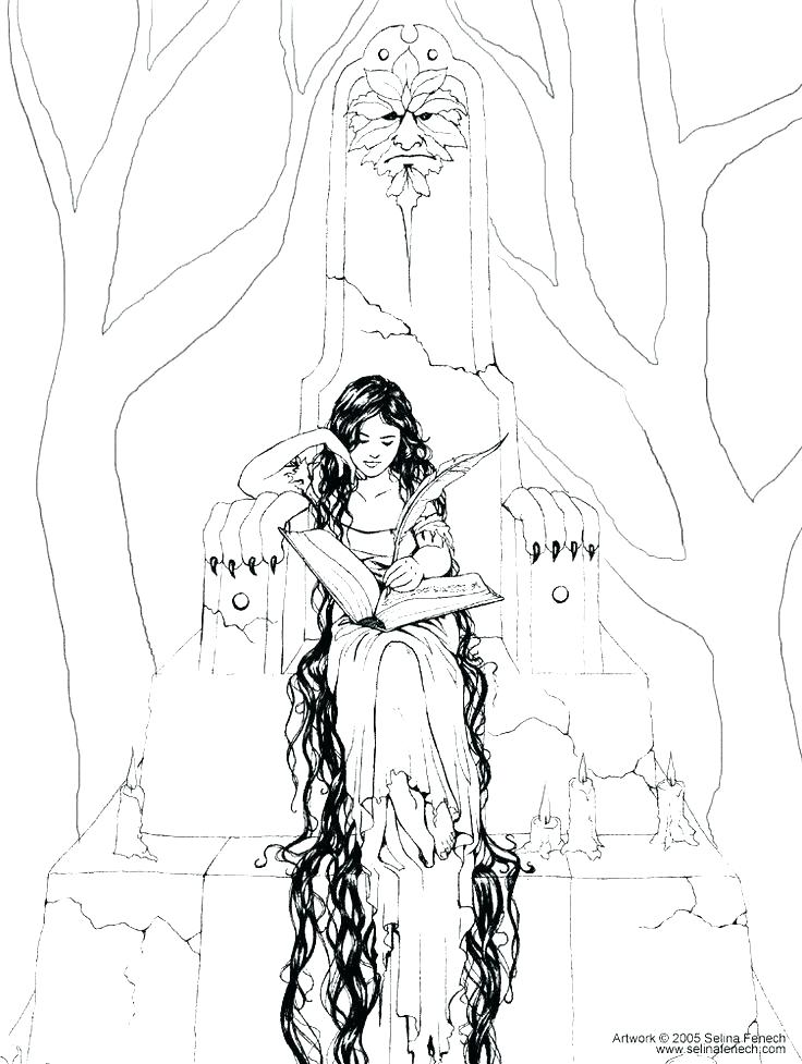 Free Gothic Coloring Pages At Getdrawings Com Free For Personal