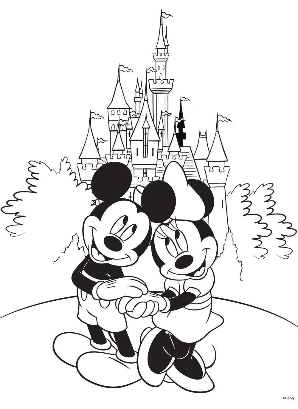 1000x1371 Free Disney Coloring Pages Free, Coloring Books And Adult Coloring