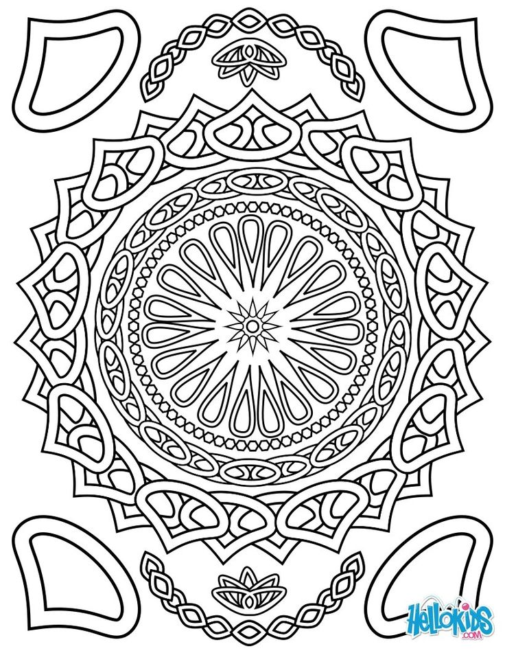 736x951 Best Mandala Coloring Pages Images On Mandala