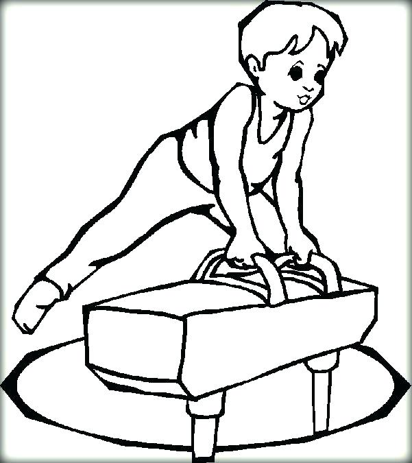601x675 Gymnastic Coloring Pages Gymnastics Coloring Pages Beam To Print