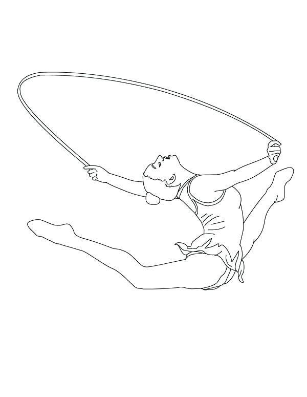 600x775 Gymnastics Coloring Page Ideas Gymnastic Coloring Pages And Free