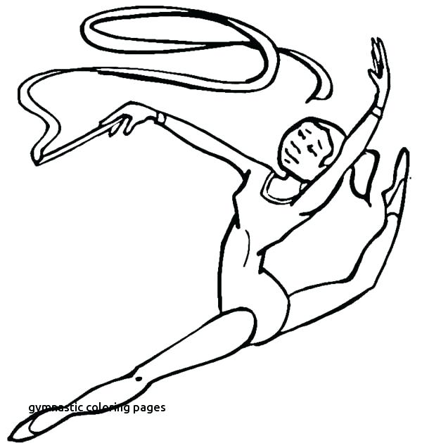 600x630 Gymnastics Coloring Pages Pdf Royalty Free Track And Field Stock