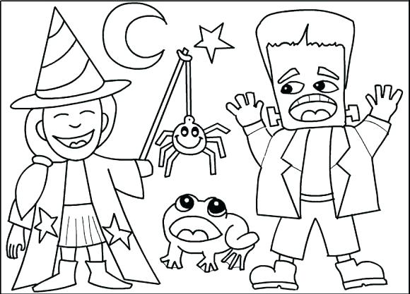 580x417 Free Halloween Coloring Pages To Print Free Coloring Pages