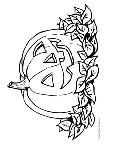 236x288 Free Printable Halloween Coloring Pages For Kids