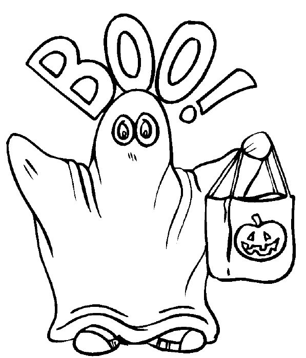 597x700 Halloween Coloring Pages For Elementary