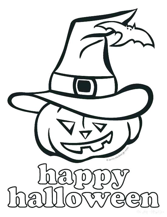 550x712 Free Halloween Coloring Pages Printable