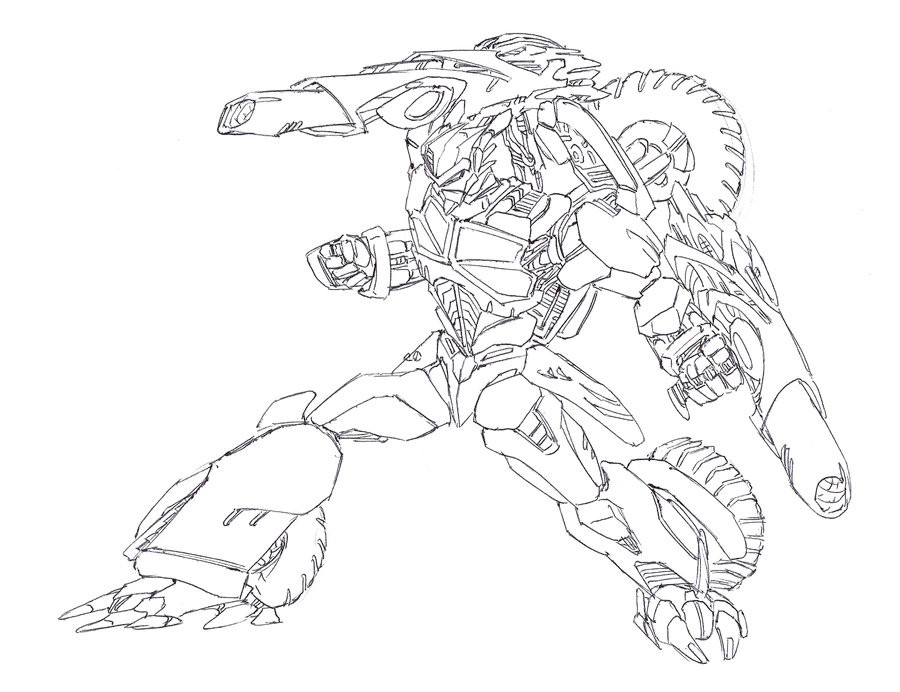 Free Halo Coloring Pages