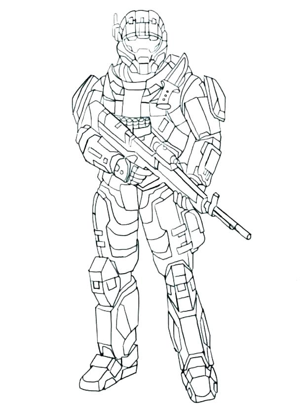 618x824 Halo Coloring Pages To Print Halo Coloring Pictures Awesome Pages