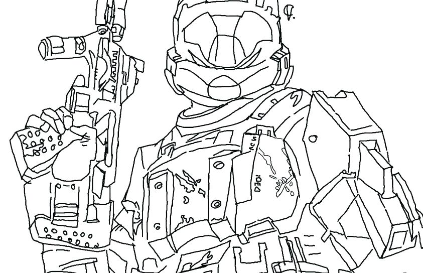843x544 Spartan Coloring Pages Halo Coloring Book Carter Helmet Halo