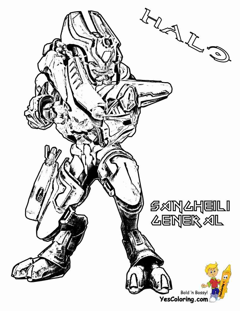 927x1200 Carter Helmet Halo Coloring Page Free Pages Online At Olegratiy