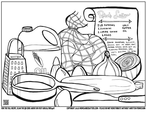 500x386 Free Printable Hanukkah Coloring Page For Adults
