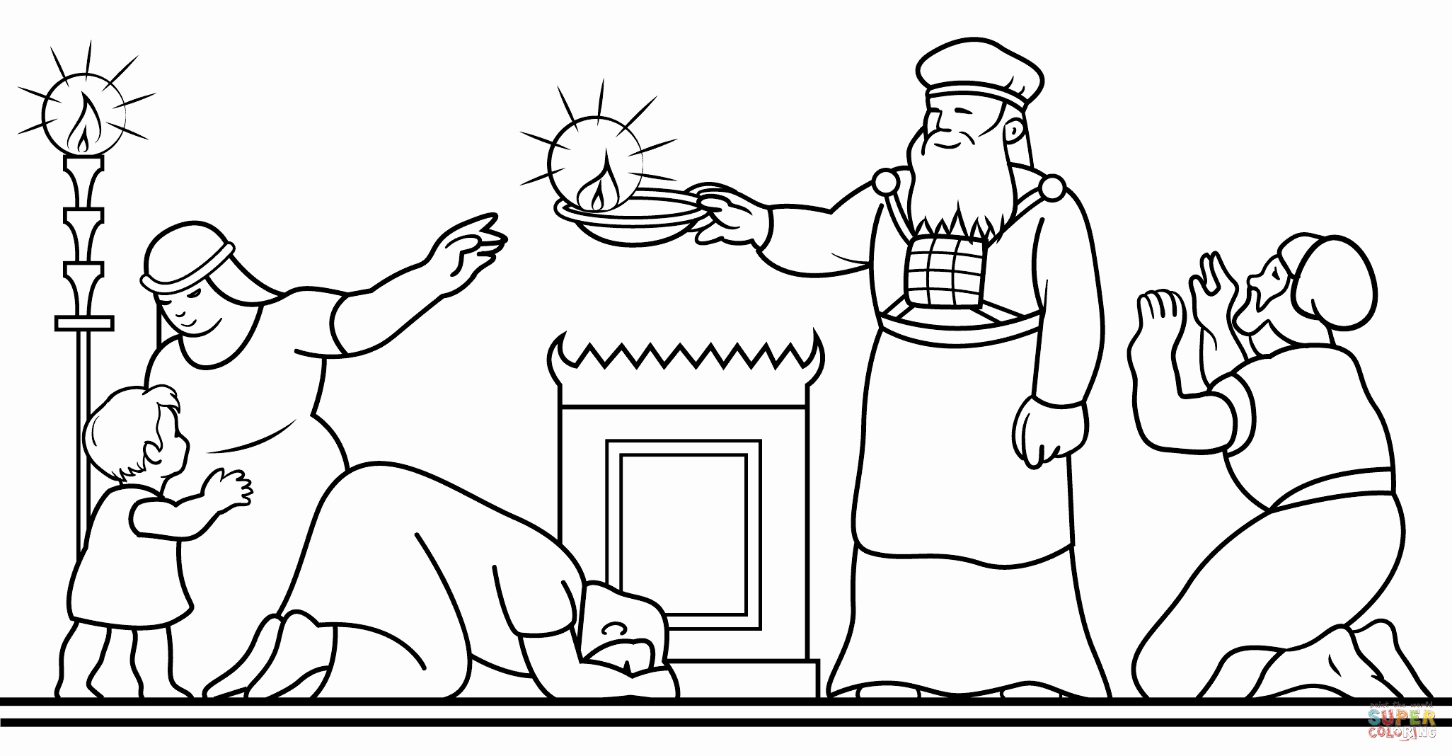 2052x1068 Free Hanukkah Pictures To Color Hanukkah Coloring Pages Printable