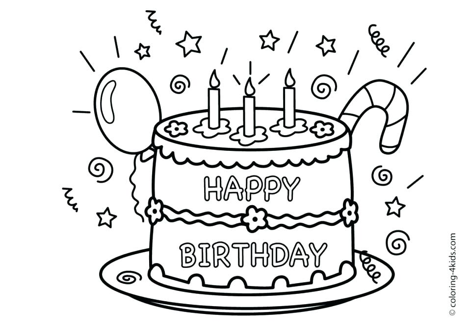 960x684 Happy Birthday Grandma Printable Coloring Pages Printable Coloring