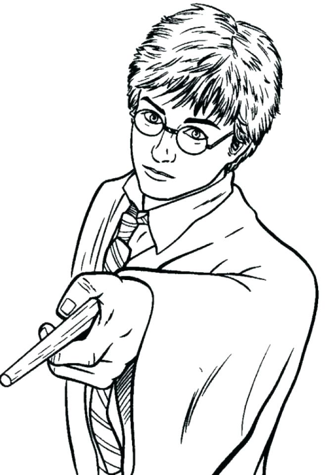 677x960 Get This Harry Potter Coloring Pages Free Harry Potter Coloring